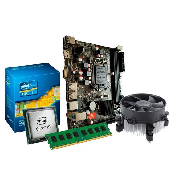Kit I5 + Placa Mãe + Cooler - Upgrade, Qualidade E Garantia