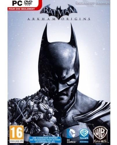 Batman Arkham Origins Pc Steam Key