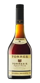 Brandy Torres 5 Solera De 700ml.