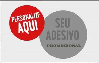 Adesivo Promocão Igrejas Moto Clube Concessionárias 100pçs