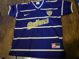 Camiseta De Boca Nike Original Mercosur 98 Talle Niño Dama