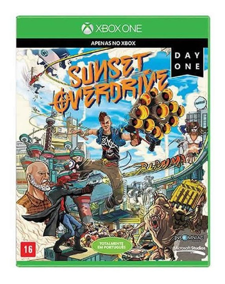 Sunset Overdrive (day One Edition) - Xbox One | Mídia Física