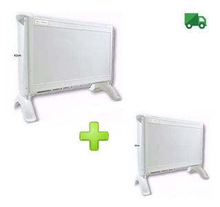 Combo 2 Calefactor Electrico Panel Estufa Exahome Calefaccio