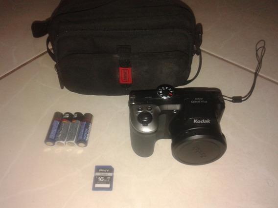 Câmera Kodak 16mp Display 3 Zoom Óptico 25x Filma Hd