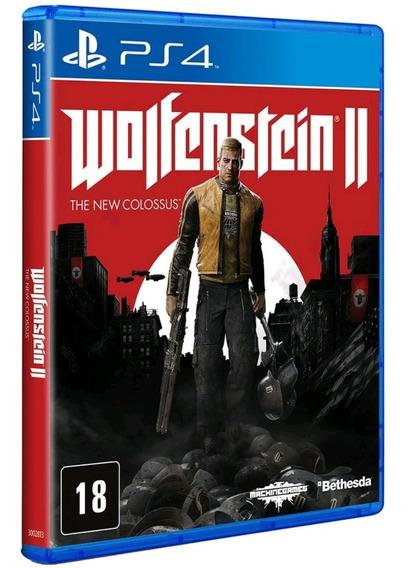 Wolfenstein 2 The New Colossus Ps4 Mídia Física Lacrado