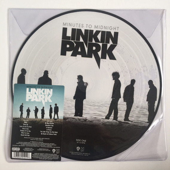 Linkin Park - Minutes To Midnight - Lp Album Picture Disc.