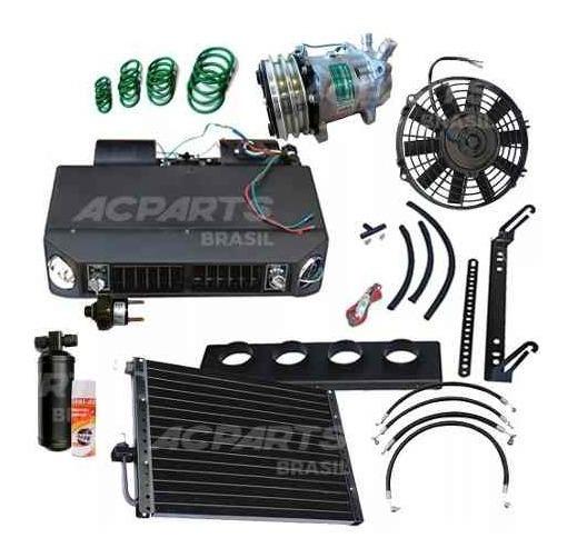 Kit Ar Condicionado Universal Instalação Diversos Veículos