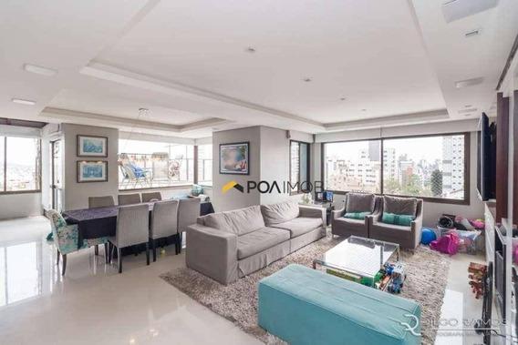 Cobertura Com 4 Dormitórios 280 M² - Petrópolis - Porto Alegre/rs - Co0247
