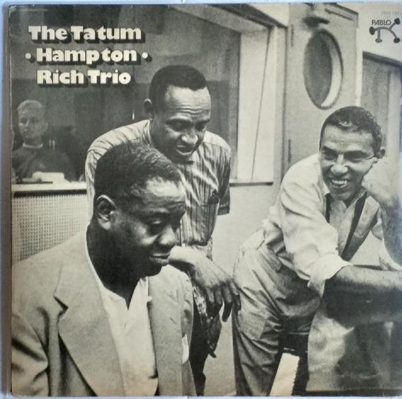 Lp The Tatum-hampton-rich Trio (1955) Reedição1975 Pablo