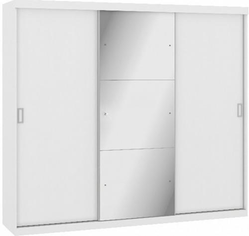 Imagen 1 de 3 de Placard Blanco 3 Puertas Ropero Placares Divino