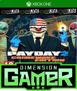 Payday 2 Crimewave Edition - Xbox One - No Codigo - Off-line