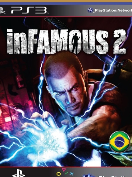 Ps3 Infamous 2 - Mídia Digital | Português