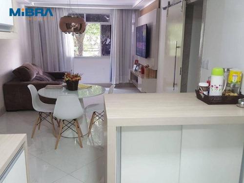 Imagem 1 de 21 de Apartamento 3 Quartos Na Praia Do Canto. - Ap1838