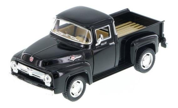 Auto Ford 1956 Pickup F100 Coleccion Metal Esc1:38 Calidad