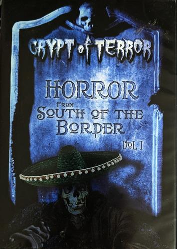 Imagen 1 de 4 de Crypta Del Terror Vol.1 / 4 Dvd,s / Hugo Stiglitz