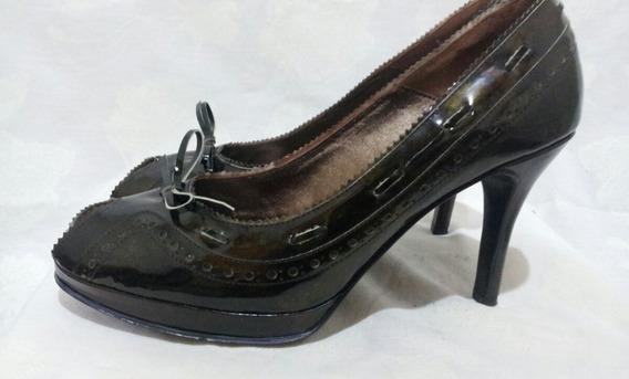 Zapatos/sandalias De Charol Marca Alonso 39