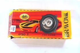 W65 Auto Falantes Bravox 80w Gt50 //