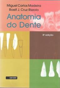 Anatomia Do Dente 8ª Edição 2016 - Livro Original
