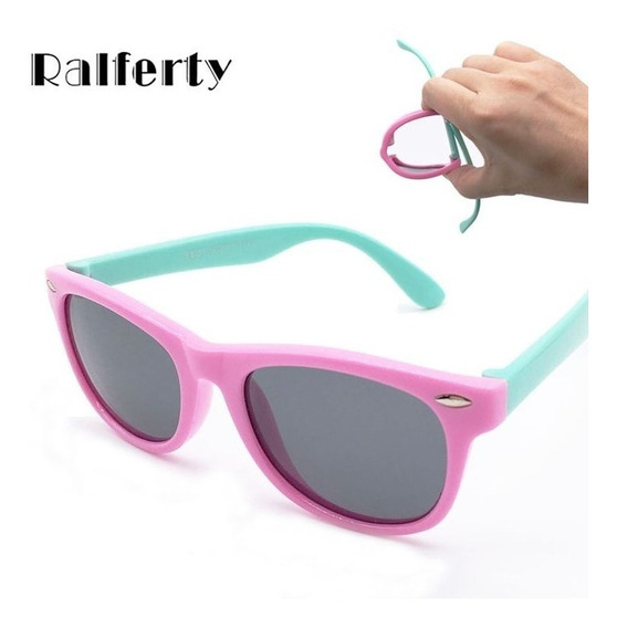Óculos De Sol Infantil De Silicone Com Proteção Uv