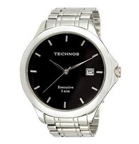 Relógio Technos Masculino Executive 1s13bc/1c Prata