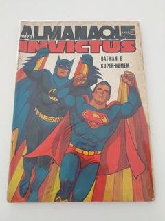 Almanaque Invictus 1973 Super/batman