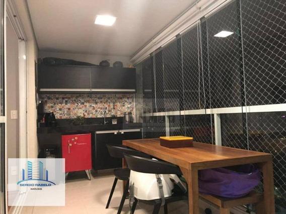Apartamento Com 2 Dormitórios À Venda, 80 M² Por R$ 950.000,00 - Campo Belo - São Paulo/sp - Ap3233