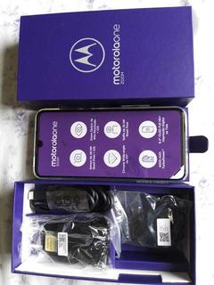 Celular Marca Motorola One Zoom 2019 Violeta