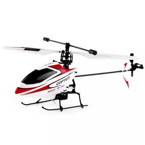 Helicóptero V911 Copter Controle 2.4ghz 4 Canais Branco