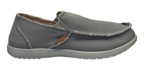 Zapatos Crocs Hombre Santa Cruz Light Grey/charcoal