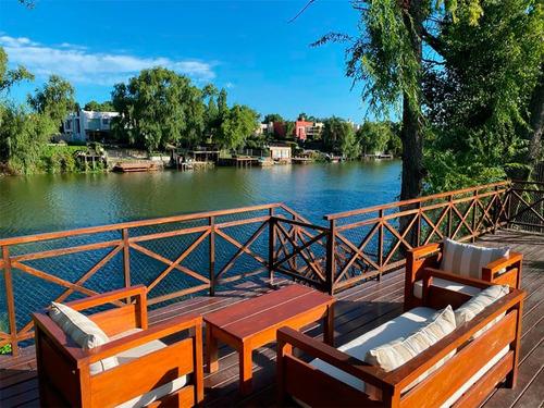 Casa Junto Al Lago En Parque Miramar Ref. 7836