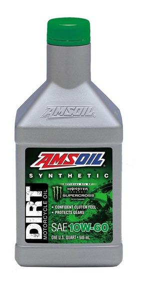 Aceite Sintetico Amsoil Motor Motos Todoterreno 10w-60 946ml