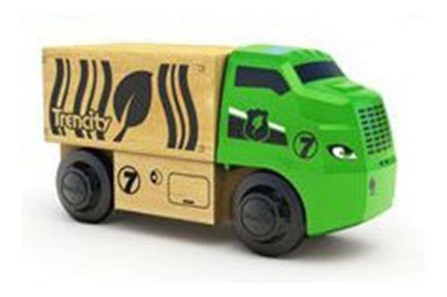 Trencity Vehiculo Melvin Camion Juguetes De Madera Educando