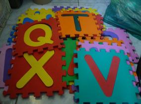Tapete Educativo Eva Alfabeto