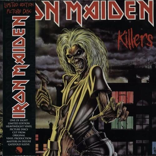 Iron Maiden - Killers - Lp Vinyl - W
