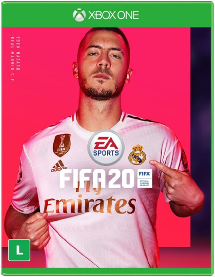 Fifa 20 Xbox One Novo Pronta Entrega Original Lacrado