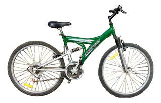 Bicicleta T-terreno Rod 26 Doble Amortiguador Y 18 Cambios