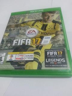 Fifa 2017 Xbox One Fisico Impecable Español Envio Gratis