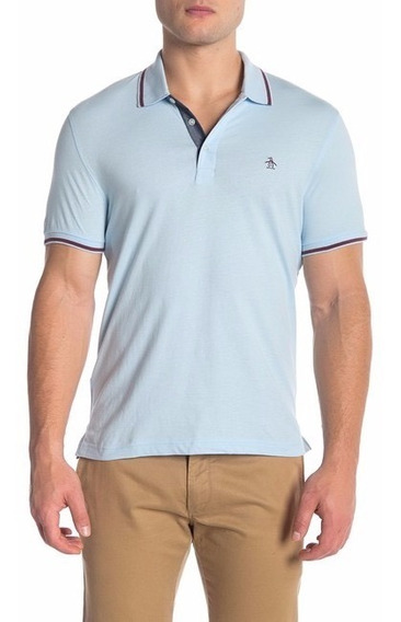 Camisa Original Penguin Heritage Slim Fit - Nueva