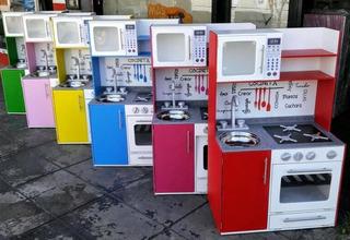 Cocinitas Infantiles De Madera- Cocinita De Juguete