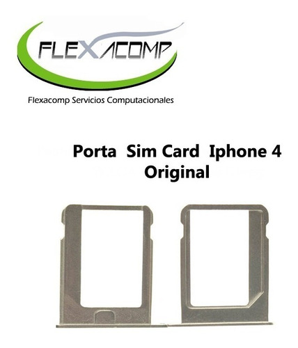 Imagen 1 de 1 de Porta  Sim Card  iPhone 4 Original!!!