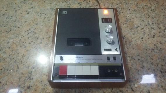 Tape Deck Sharp Rd 409 *raríssimo* Gradiente