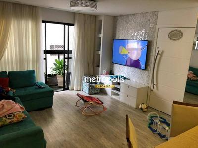 Apartamento Com 4 Dormitórios À Venda, 120 M² Por R$ 560.000 - Santa Paula - São Caetano Do Sul/sp - Ap2360