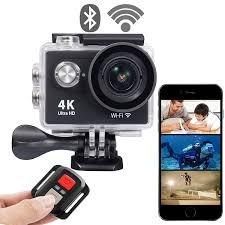 Camara 4k Ultra Hd - Cámara De Acción + Control Remoto