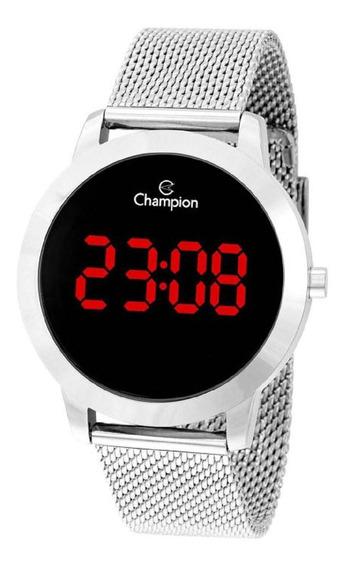 Relógio Champion Digital Led Prateado Ch40106t
