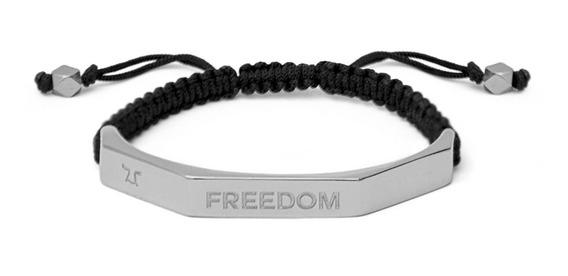 Brazalete Momentum Freedom Níquel Pulido Mmh-npfr-h-1