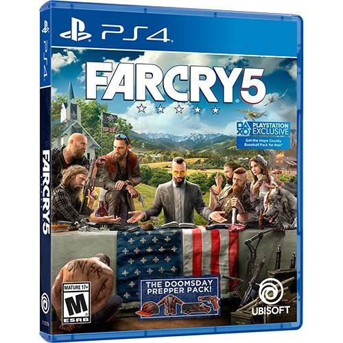 Jogo Mídia Física Far Cry 5 Original Para Ps4