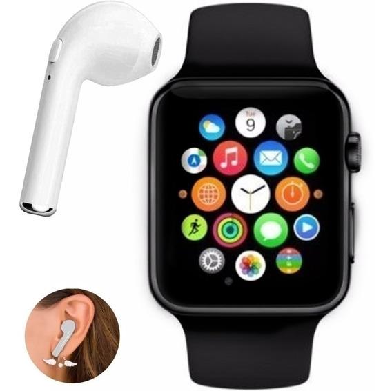 Relógio Smart Digital ,bluetooth ,ligações,chip+fone AirPods