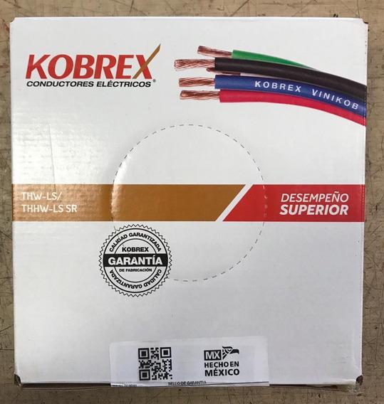 Caja De Cable 100m Thw Calibre 12 Verde Marca Kobrex