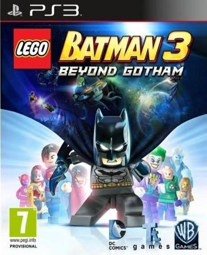 Lego Batman 3 Beyond Gotham (ps3) Português Play3 Em Oferta