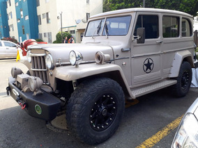 Jeep Willys Wagon 4x4 Campero Todo Terreno Trochador